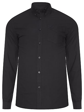 Fred Perry CAMISA MASCULINA CLASSIC OXFORD - PRETO