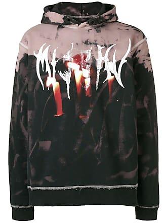 Misbhv destroyed graphic hoodie - Black