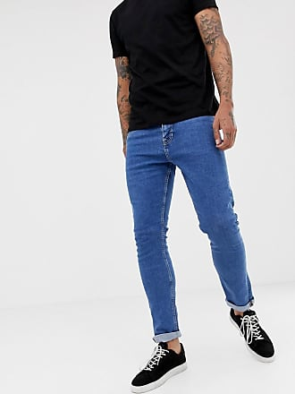 New Look slim jeans in mid blue wash - Blue