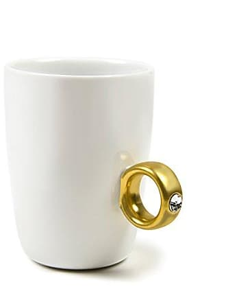 Fred Perry 2-CARAT CUP Solitaire Ring Mug, Gold
