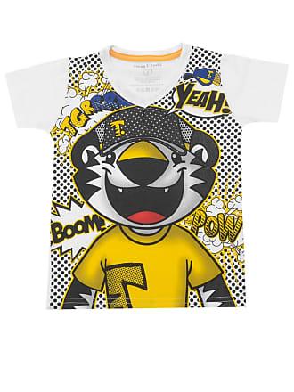 Tigor T. Tigre Camiseta Tigor T. Tigre Menino Estampa Frontal Branca