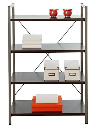 Unique Furniture Tribeca Bookcase with 4 Shelves - 213-ESP