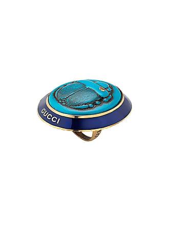 e633f1775e1 Gucci Anel com camafeu - Azul