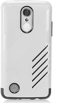 Mundaze Mundaze Movement Double-Layered Case for LG Aristo/Phoenix 3/Fortune, Silver