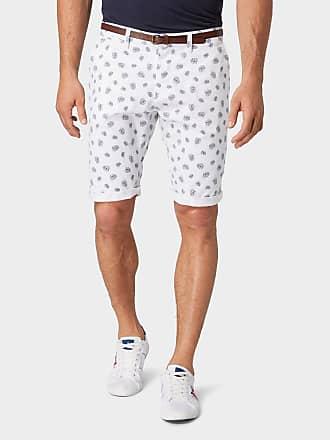 Tom Tailor Josh Regular Slim Chino Shorts mit Gürtel