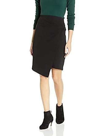 Ellen Tracy Womens Bow Front Skirt, el/Black, 2
