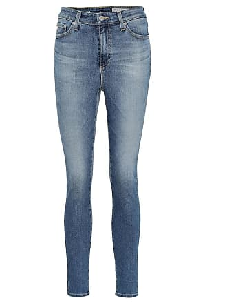 AG - Adriano Goldschmied The Mila Ankle high-rise skinny jeans