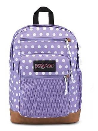 Jansport Huntington Backpacks - Purple Dawn Polka Dot