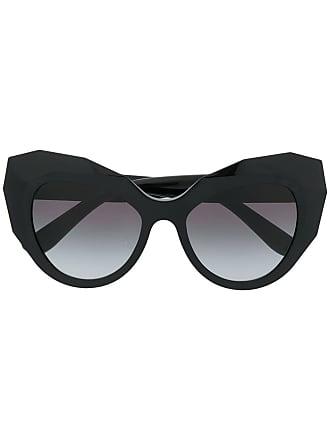 Dolce   Gabbana Eyewear Óculos de sol gatinho oversized - Preto 13f0185165