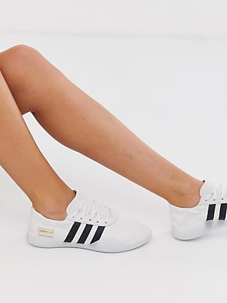 adidas Originals Taekwondo Team - Sneaker in Weiß-Schwarz
