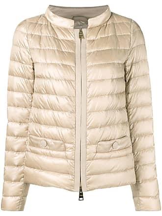 Herno padded zipped jacket - Neutrals