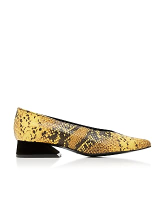 Yuul Yie Selma Snake-Effect Leather Pumps