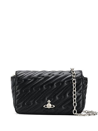 92d90cac35 Vivienne Westwood quilted-effect shoulder bag - Black