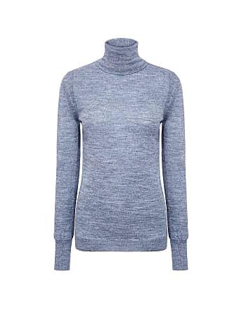 Mih Jeans Slim turtleneck sweater Faded Blue Fdu