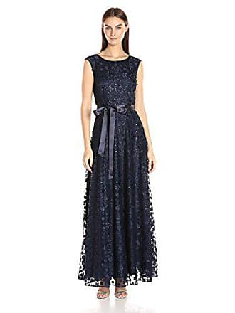 f5599ef65f2 Delivery  free. Tahari by ASL Womens Cap Sleeve Long Novelty Gown W Belt