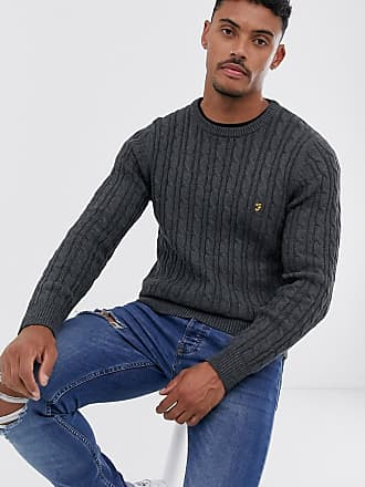Men's Farah Crew Neck Sweaters − Shop now up to −76