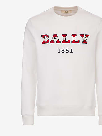 Bally Logo Crewneck Sweatshirt White 7