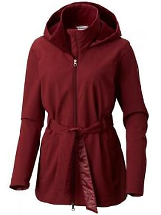 Columbia Womens Take to the Streets II Trench Coat - Rich Wine