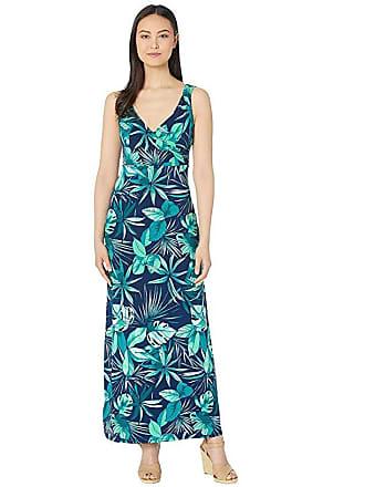 32c7bd4176 Tommy Bahama Cabana Colores Maxi Dress (Island Navy) Womens Clothing
