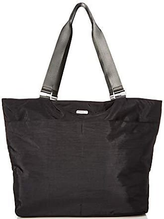 Baggallini Carryall Tote, Black/Charcoal, One Size