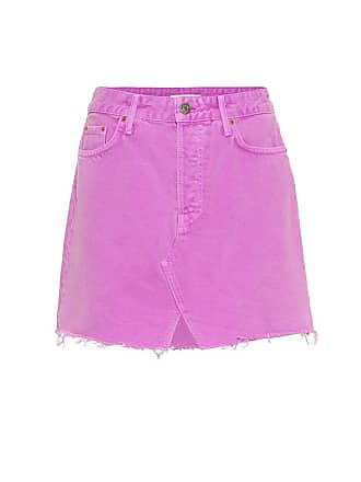 GRLFRND The Milla denim miniskirt