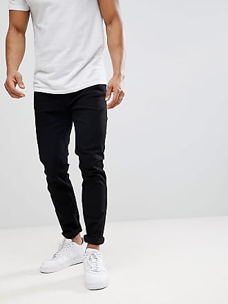 Burton Menswear tapered jeans in black
