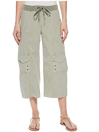 Xcvi Sunday Crop Pant (Military Olive Pigment) Womens Casual Pants