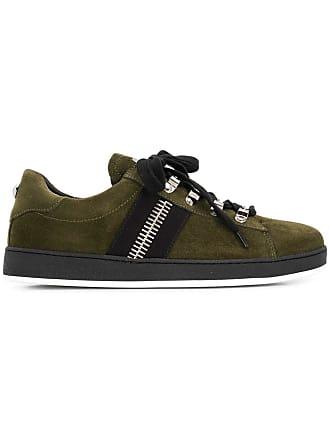Balmain low top sneakers - Green