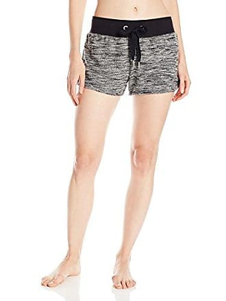 2(x)ist Womens Micro French Terry Space Dye Short, Black, Large