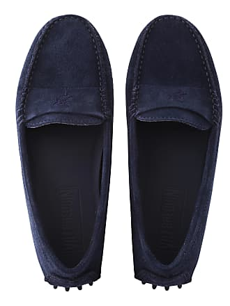 Vilebrequin Women Accessories - Women Very soft Daim Loafers Solid - SHOES - JACKIE - Blue - 41 - Vilebrequin