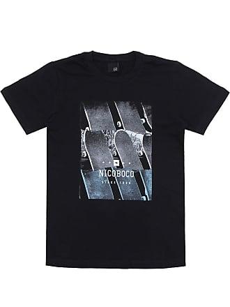 NICOBOCO Camiseta Nicoboco Menino Frontal Preta