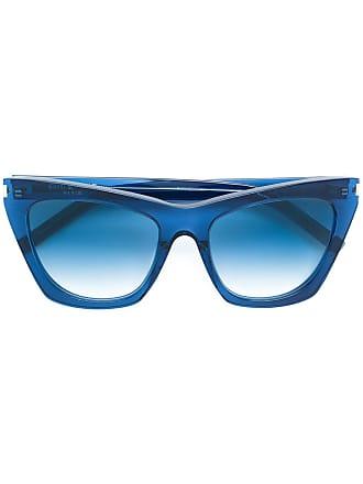 Saint Laurent Eyewear Óculos de sol Kate - Azul