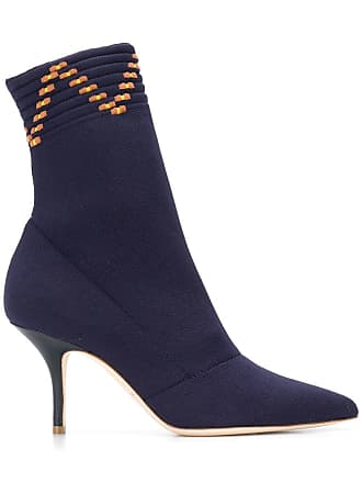 Malone Souliers Ankle boot Mariah de couro - Azul