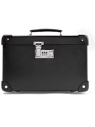 Globetrotter Centenary 13 Leather-trimmed Fiberboard Vanity Case - Black