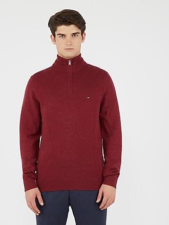 Tommy Hilfiger Homme Tricot de coton Rouge rouge Vêtements