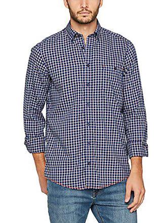 f9154495d55 Casamoda 472801700 Camisa, Azul (Blau 100), 46 para Hombre