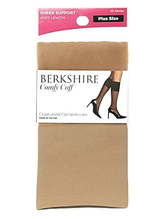 37ffc723e Berkshire Plus Size Womens Plus Size Queen Sheer Graduated Compression  Trouser Sock