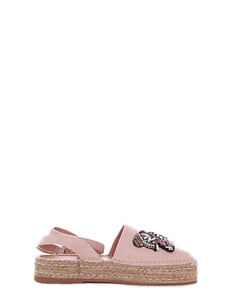 82241ba3a7 Twin-Set WOMENS 191TCP10A690 PINK LEATHER ESPADRILLES