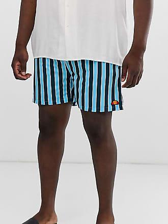 6db2c1a5b8 Ellesse Ellesse Plus Cozza stripe swim short in navy exclusive at ASOS