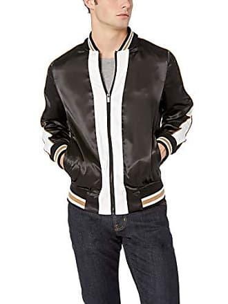 2(x)ist Mens Bomber Jacket Outerwear, Black/White, Medium