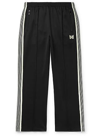 7982ea9f649617 Needles Glittered Webbing-trimmed Tech-jersey Track Pants - Black