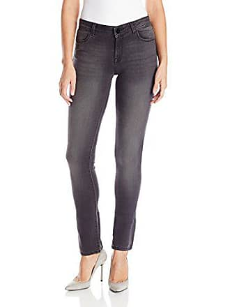 DL1961 Womens Grace High Rise Straight Jeans, Cyclone, 28