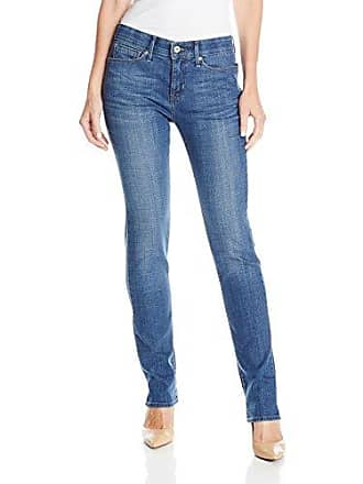 Levi's Womens 525 Perfect Waist Straight Jeans, Moody Blue, 32 (US 14) S