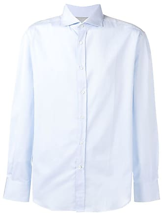 Brunello Cucinelli Camisa lisa - Azul