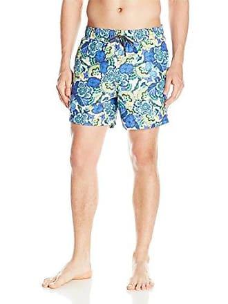 30f7273471106 Maaji Mens Printed Elastic Waist Mid Length Swimsuit Trunks 5 Inseam,  Sunset Peak Multi,