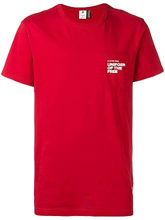 G-Star Raw Research Camiseta com estampa - Vermelho