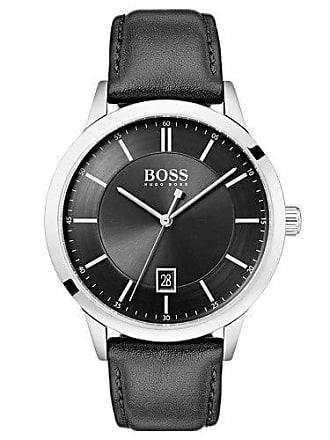 HUGO BOSS Relógio Hugo Boss Masculino Couro Preto - 1513611