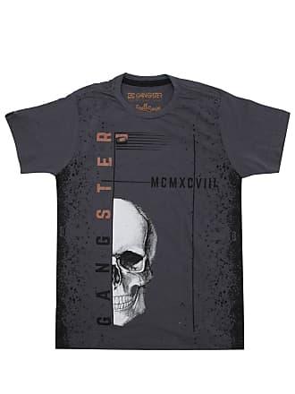 Gangster Camiseta Gangster Menino Outras Cinza