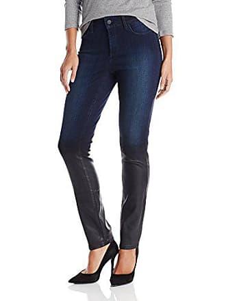 NYDJ Womens Alina Skinny Jeans, Optic White, 4