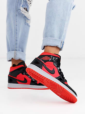 nike air force 1 bianche e rosse donna